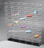 Изготовленный на заказ акриловый шкаф индикации для модельных автомобилей