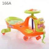 Passeio plástico novo do carro da torção do carro do balanço do bebê dos brinquedos do bebê no carro