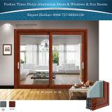 Foshan fois Huiye de bonne qualité (Chine haut de page10) des portes coulissantes en aluminium
