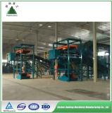 Clasificadora urbana automática de la planta de reciclaje de basura municipal