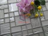 Het zilveren Mozaïek van het Glas van het Patroon van de Golf van de Kleur (CFC632)