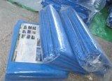 Het blauwe Geteerde zeildoek van het Polyethyleen/Gemalen Blad/Lichtgewicht het Kamperen Dekking