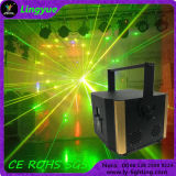 アニメーション5W RGB専門DJのナイトクラブの段階のレーザー光線