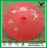 Guarda-chuva de casamento de papel de bambu de impressão personalizada