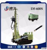 Df600sクローラーによって取付けられる油圧空気の地下水の穴鋭い機械