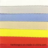 CVC 75/24/1 Anti-Static retardante de chama tecido sarjado fluorescência para Hi-Vis Vest