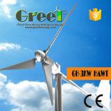 3kwセリウムの証明書が付いている水平の風力の風車