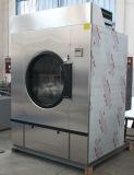 Máquina elétrica do secador da lavanderia do aquecimento do vapor do gás
