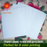 Duplexvorstand-Papier mit Grau-Rückseite für die Herstellung der Kästen (DP-003)