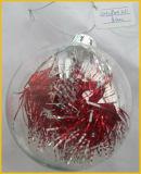 Natale libero fatto a mano sfera di vetro