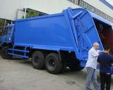 De Vuilnisauto van Compressed van Donfeng 6X4 18m3