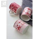 Taza de cerámica de mirada elegante de la leche de la taza de café de la fábrica 10oz 12oz de China