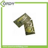 Biglietto da visita astuto classico su ordinazione del PVC 4k RFID di stampa MIFARE