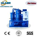Machine utilisée automatiquement commandée de filtration d'huile hydraulique de vide