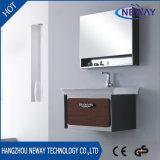 Cabina de la vanidad del cuarto de baño del acero inoxidable con la cabina del espejo