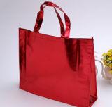 Sacos de Tote metálicos não tecidos do saco de Tote da compra do saco de Eco