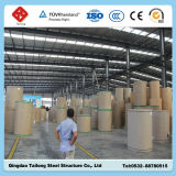 China Low Cost Light Prefabricated Steel Frame Structure Building for Factory