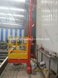 3D-plataforma de elevación para la gran cabina de pintura