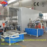 Noyau élevé automatique de papier de configuration/machine production de cône pour le filé