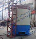 Máquina dos carvões amassados do carvão vegetal do assado para a máquina da carbonização da venda/carvão vegetal da biomassa