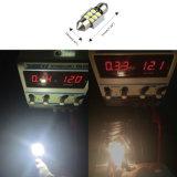 Super Bright 5050 6SMD Festoon 36mm LED Light de leitura