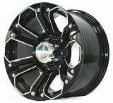 A roda nova da liga da roda da liga do carro após o mercado roda as rodas da roda 4X4 de SUV