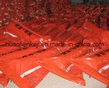 Barramento / vedação industrial de contenção de óleo de PVC, Boom de óleo de PVC flutuante