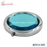 Blue Wholesale Custom Crystal Cosmetic Mirror