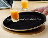 ホテルの印刷されるロゴの反スキッドの食糧サービングの皿