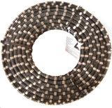 Alambre de goma plano del diamante de corte del arrabio de la capa de G635#-B Spring+