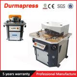 Máquina de estaca de canto ajustável do tipo Q28y 6X220 de Durmapress