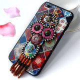 Folk Assorted Flowers 3D Phone Cover para iPhone 7plus