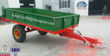 제조자 Europen 작풍에 있는 트레일러 5 톤 농장 트레일러 트랙터 팁 주는 사람