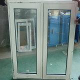 Окно форточки UPVC нового двойника конструкции открытое с высоким качеством