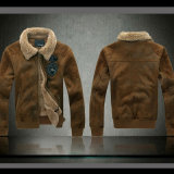 Chaqueta de cuero de la ropa caliente para la ropa del hombre