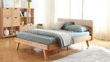 Festes hölzernes Bett-moderne doppelte Betten (M-X2300)