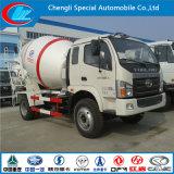 6cbm 8cbm 10cbm Cement Mixer Truck, 4X2 Foton Betão Mixer Truck