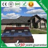 Mode Feuille de matériaux de construction lumineuses colorées en métal recouvert de tuiles de toiture Pierre