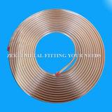10mm medizinisches Gas-kupfernes Gefäß in der Pfannkuchen-Ring-Form