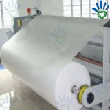 Tecido não tecido em PVC branco em rolo para cama e Hometextile