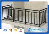 Vorfabrizierter Metallbalkon-Zaun-/bearbeitetes Eisen-Balkon-Zaun