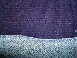 Джинсовая ткань Джерси простирания Терри сини индига