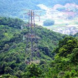 башня тангенса передачи силы цепи 220kv Doubule