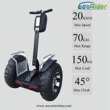 Le char électrique de scooter d'équilibre à roues par deux avec du ce a reconnu 60km-70km
