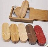 Деревянный диск 1g 2g 4G 8g 16g 32g Pendrive USB с деревянной коробкой (TF-0406)