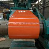 La couleur SGCC de Ral a enduit les bobines d'une première couche de peinture galvanisées de PPGI