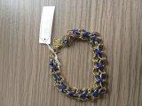 De open Juwelen van de Manier van de Armband/van de Armband van het Metaal van het Blad Zilver Geplateerde