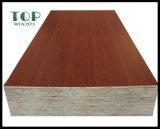 Blockboard avec E2/E1/E0/colle mélamine/WBP
