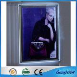 Montage Mural LED de la publicité Crystal Light Frame