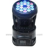18X3w RGB LED перемещения передних фар
